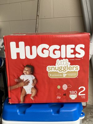 NEW/ NEVER OPENED Huggies Diapers - size 2 for Sale in Plant City, FL
