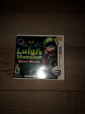 Luigi's Mansion Dark Moon Nintendo 3DS for Sale in Ontario, CA