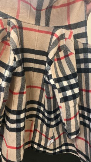 Burberry Jacket size L (women's jacket ) reversible jacket for Sale in Queens, NY
