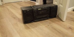 Sony CD player and cassette for Sale in Somerset, NJ
