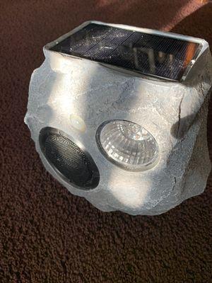 Wireless solar speaker rock style for Sale in Los Angeles, CA