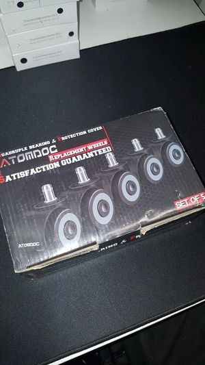 5 pack universal office chair wheels for Sale in Los Angeles, CA