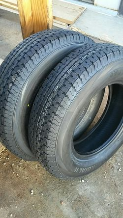 4 new Trailer Tires 205/75/14...8 ply..load D for Sale in Palmdale,  CA