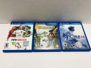 Ps vita game bundle for Sale in Chula Vista, CA