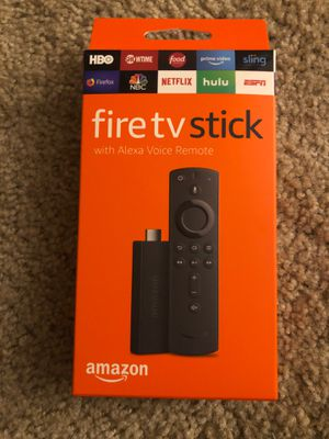 Amazon Fire TV Stick 2nd Generation 1080p with Alexa Voice Remote for Sale in Delaware, OH