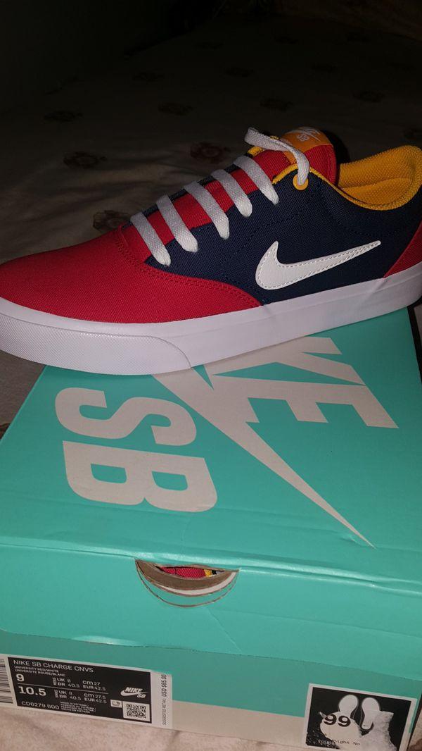 Nike SB Nike shoe SNEAKER kicks red blue yellow 91744