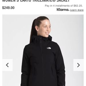 NEW NorthFace Woman's Carto TriClimate Jacket - Small for Sale in Dublin, OH