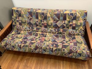 Futon frame and mattress for Sale in New York, NY