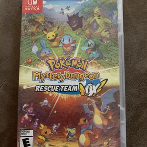 Pokémon Mystery Dungeon Rescue Team DX (Nintendo Switch) for Sale in Las Vegas, NV