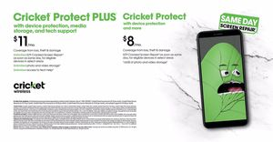 Protect your phone today with cricket protect !!! for Sale in Victoria, TX