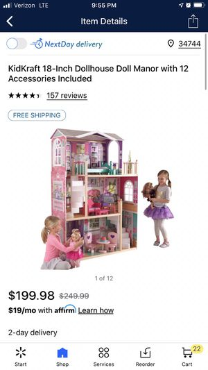 "18"" Doll Playhouse for Sale in Frostproof, FL"
