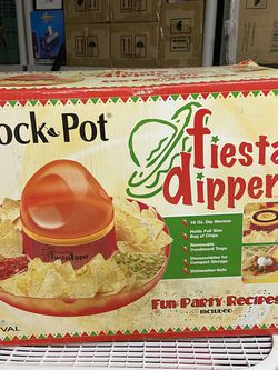 Fiesta Dipper Rival NF100 Dip Warmer Chip Tray for Tailgate or Bowl Crock Pot for Sale in Downey,  CA