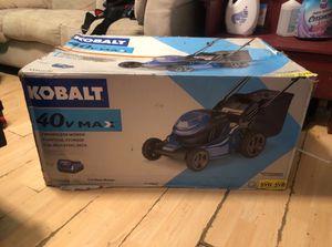 Kobalt 40v Max Brushless Lawn Mower for Sale in Dallas, TX