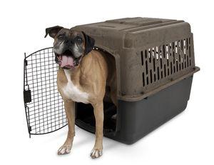 "Petmate RuffMaxx Plastic Dog Kennel, Brown, Large, 40""L for Sale in San Lorenzo, CA"
