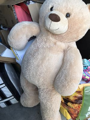 Huge 4 foot teddy bear for Sale in Clermont, FL