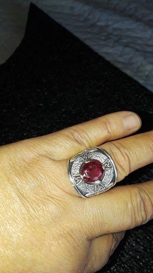 anillo de onbre grueso sais 10 y medio de silver for Sale in Huntington Park, CA