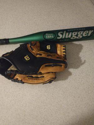 Baseball bat and glove for Sale in Phoenix, AZ