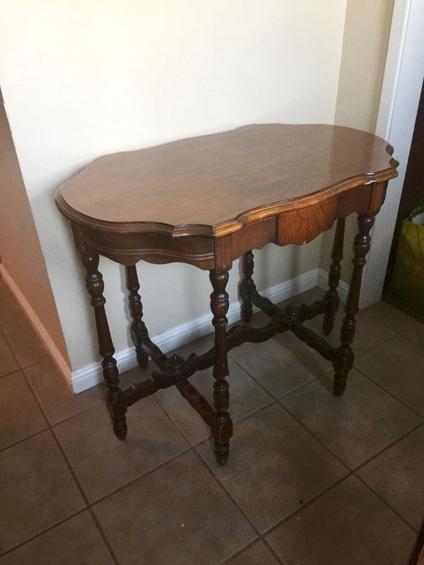 Antique 6 Leg Parlor Table For Sale In Rancho Cordova Ca
