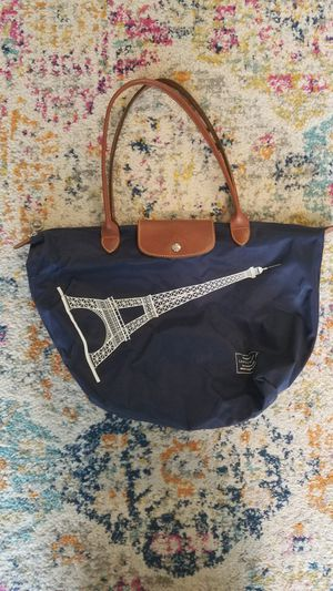 Longchamp Le Pliage Eiffel Tower tote bag/purse for Sale in Portland, OR