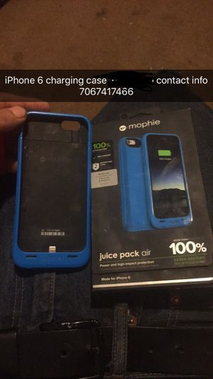 iPhone 6 charger case for Sale in Stovall, GA