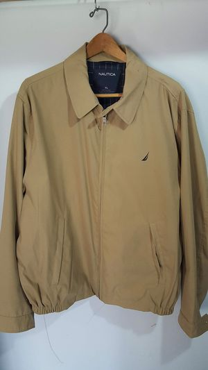 Nautica men jacket like new only used once for Sale in Atlanta, GA