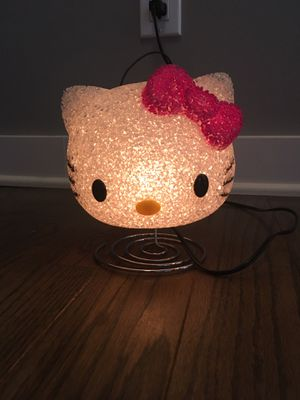 Hello kitty lamp or nightlight for Sale in Marietta, GA
