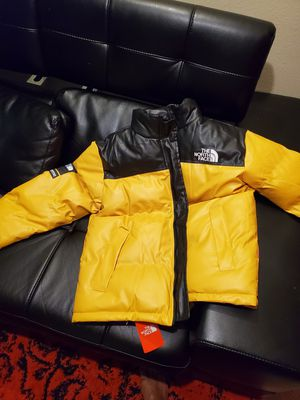 Supreme The North Face Leather Jacket for Sale in Dallas, TX
