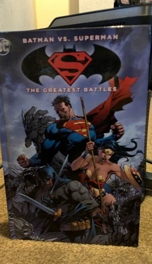 Batman vs. Superman Comic with 3 DVDs for Sale in San Fernando, CA