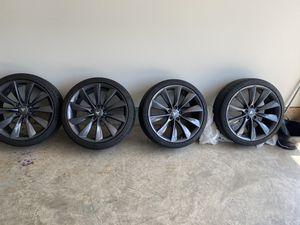 Tires for Tesla Model S P100D for Sale in Sterling, VA