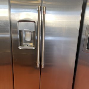 """36"""" Ge Side By Side Refrigerator- New Scratch And Dent for Sale in Arvada, CO"""