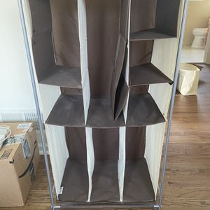 Fabric Adjustable Shoe Rack for Sale in Franklin Township, NJ