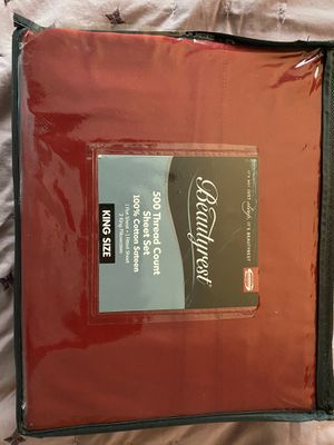 King size sheets for Sale in Snohomish, WA