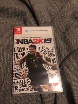 NBA 2K19 Nintendo Switch for Sale in Phoenix, AZ