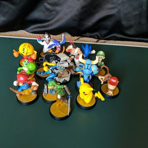 Super Smash Bros Amiibos($12 Per Amiibo) + Shovel Knight($50) For The Nintendo Switch for Sale in Laveen Village, AZ