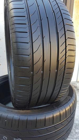 255/40/18 CONTINENTAL SSR USED TIRES for Sale in Tampa, FL