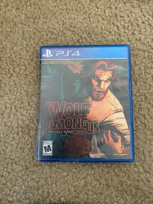 Wolf among us PS4 for Sale in Gilroy, CA