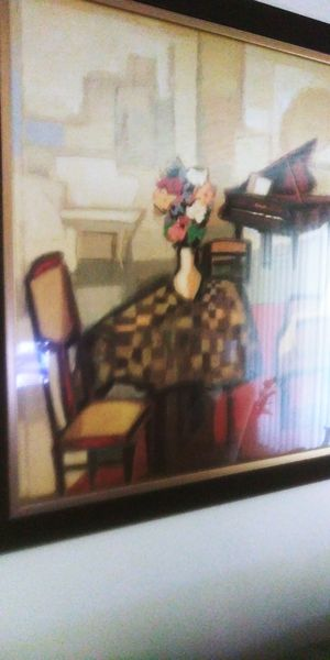 Beautiful large picture 4 ft. tall x 3 1/2 ft wide for Sale in Brookhaven, GA