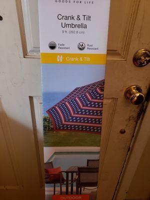 Outdoor umbrella crank and tilt for Sale in Whittier, CA