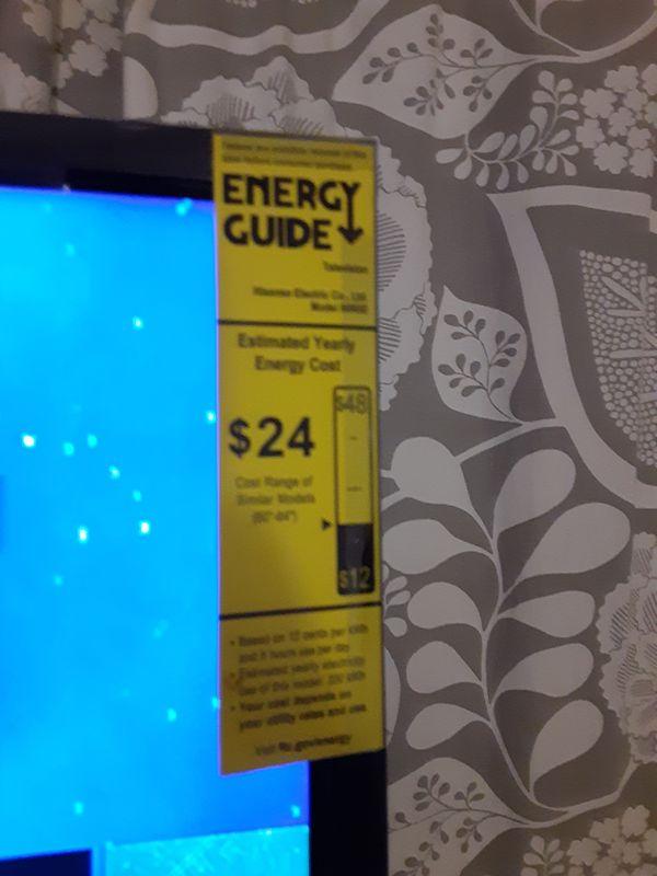 """60 inch 4K Hisense Roku Smart TV"