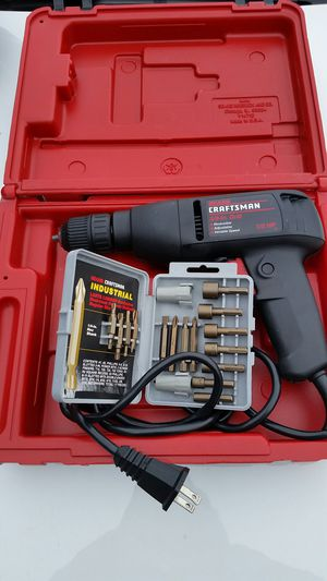 SEARS CRAFTSMAN 3/8 DRILL for Sale in Oak Forest, IL
