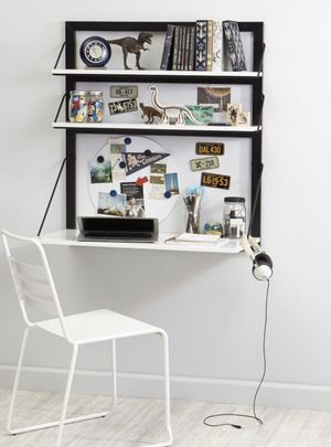 Wall mounted desk - crate and barrel kids for Sale in San Diego, CA