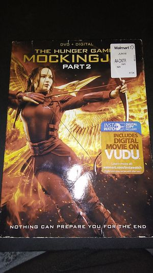 The hunger games Mockingjay part 2 dvd for Sale in Sprouses Corner, VA