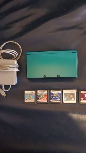 Nintendo 3ds and 6 games for Sale in Washougal, WA
