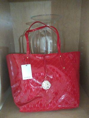 "New Red Big reversible BeBe purse 20"" x 15"" $45 o.b.o for Sale in Mesa, AZ"