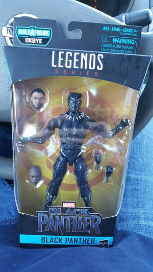 Marvel black panther action figure for Sale in Charlotte, NC