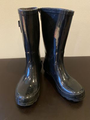 Girl's Rain Boots (Classic Tall Back) Youth Size 4 for Sale in Bellevue, WA