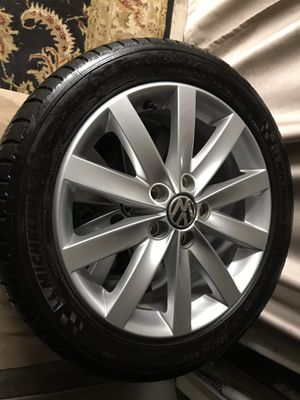 Michelin Pilot Sport 235/45/17 tires and rims for VW Jetta for Sale in Tacoma, WA