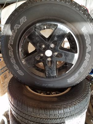 Jeep wheels for Sale in Parker, CO
