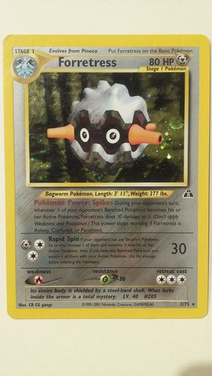 POKEMON FORTRESS HALO MINT NM for Sale in Las Vegas, NV