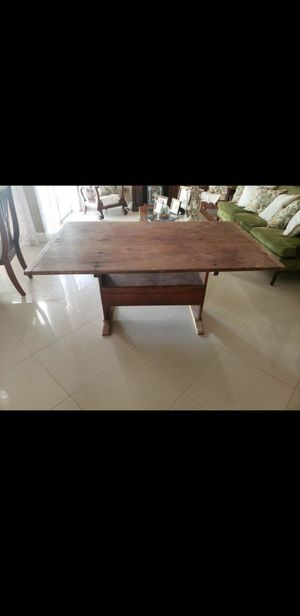 Antique table / bench for Sale in Miami, FL